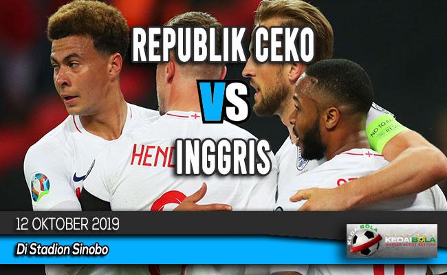 Prediksi Skor Bola Republik Ceko vs Inggris 12 Oktober 2019