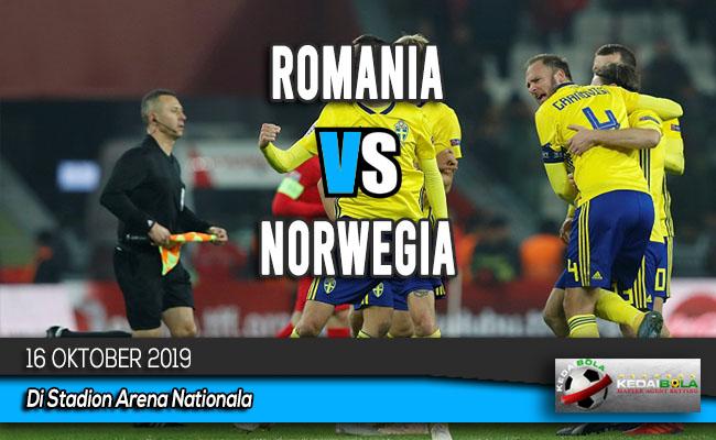 Prediksi Skor Bola Romania vs Norwegia 16 Oktober 2019