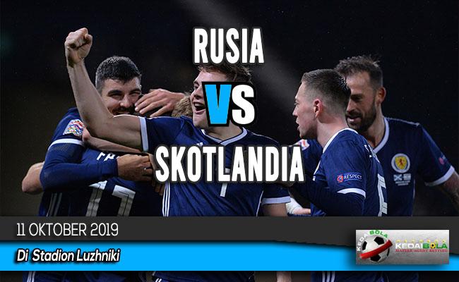 Prediksi Skor Bola Rusia vs Skotlandia 11 Oktober 2019