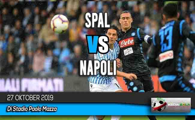 Prediksi Skor Bola SPAL vs Napoli 27 Oktober 2019