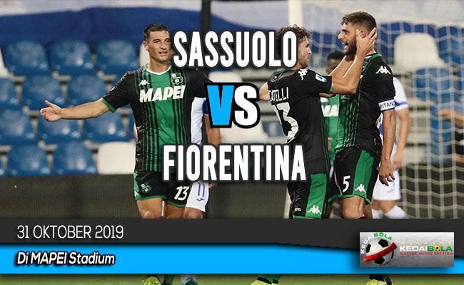 Prediksi Skor Bola Sassuolo vs Fiorentina 31 Oktober 2019