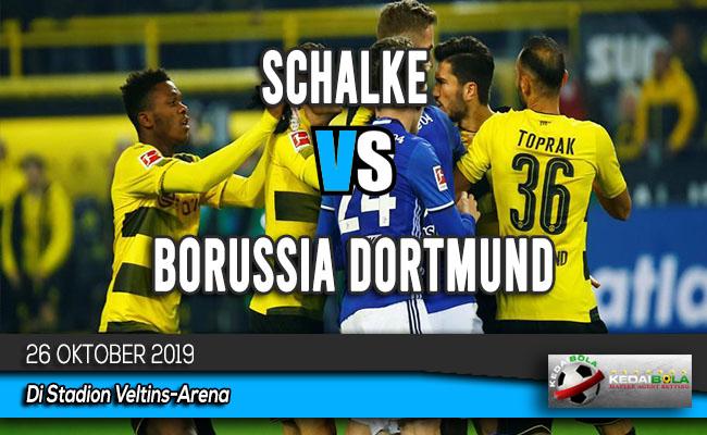 Prediksi Skor Bola Schalke vs Borussia Dortmund 26 Oktober 2019