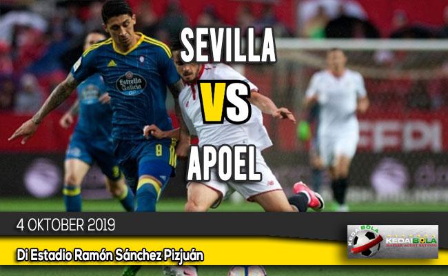 Prediksi Skor Bola Sevilla vs APOEL 4 Oktober 2019