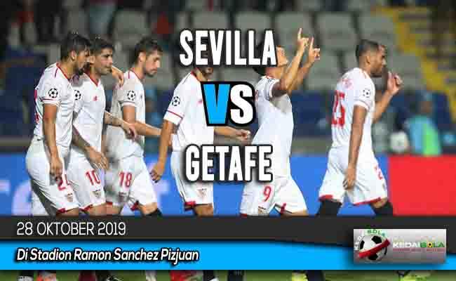 Prediksi Skor Bola Sevilla vs Getafe 28 Oktober 2019