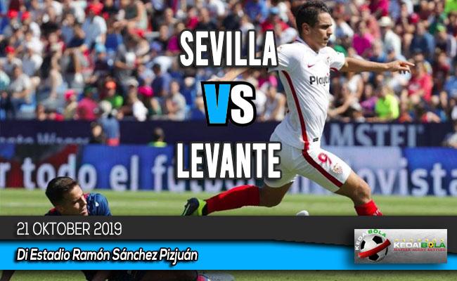 Prediksi Skor Bola Sevilla vs Levante 21 Oktober 2019