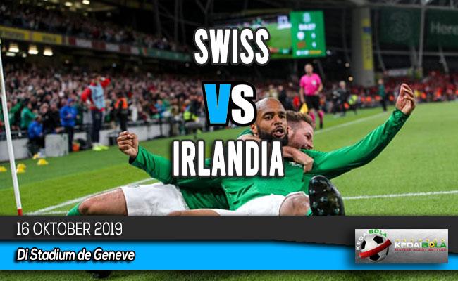 Prediksi Skor Bola Swiss vs Irlandia 16 Oktober 2019