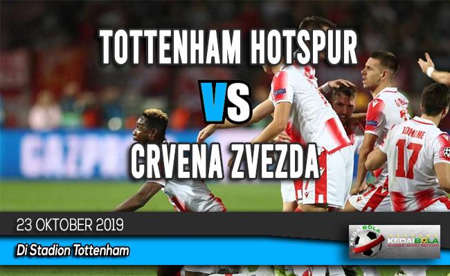 Prediksi Skor Bola Tottenham Hotspur vs Crvena Zvezda 23 Oktober 2019