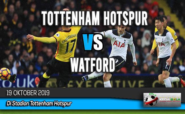 Prediksi Skor Bola Tottenham Hotspur vs Watford 19 Oktober 2019
