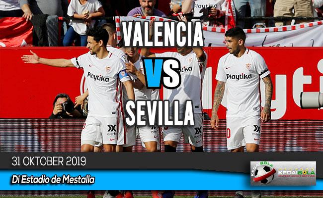 Prediksi Skor Bola Valencia vs Sevilla 31 Oktober 2019