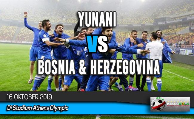 Prediksi Skor Bola Yunani vs Bosnia & Herzegovina 16 Oktober 2019