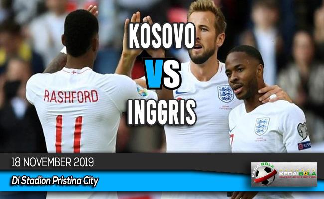 Prediksi Skor Bola Kosovo vs Inggris 18 November 2019