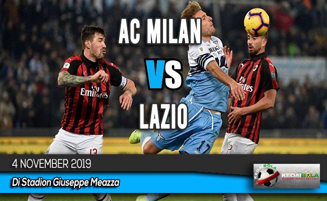 Prediksi Skor Bola AC Milan vs Lazio 4 November 2019