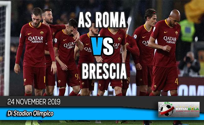 Prediksi Skor Bola AS Roma vs Brescia 24 November 2019