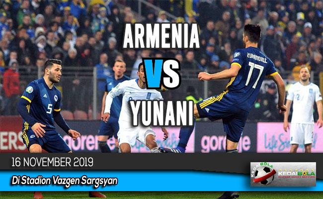 Prediksi Skor Bola Armenia vs Yunani 16 November 2019