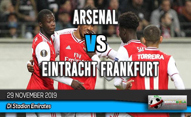 Prediksi Skor Bola Arsenal vs Eintracht Frankfurt 29 November 2019