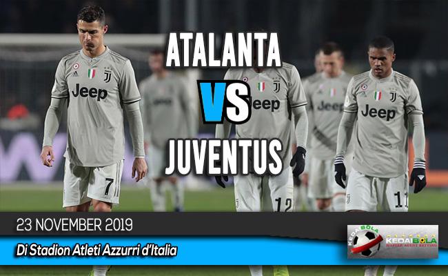 Prediksi Skor Bola Atalanta vs Juventus 23 November 2019