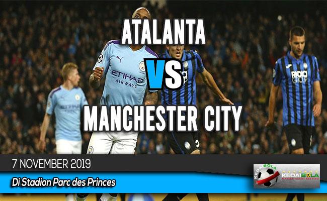Prediksi Skor Bola Atalanta vs Manchester City 7 November 2019