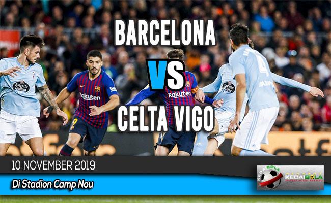 Prediksi Skor Bola Barcelona vs Celta Vigo 10 November 2019