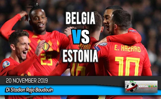 Prediksi Skor Bola Belgia vs Siprus 20 November 2019