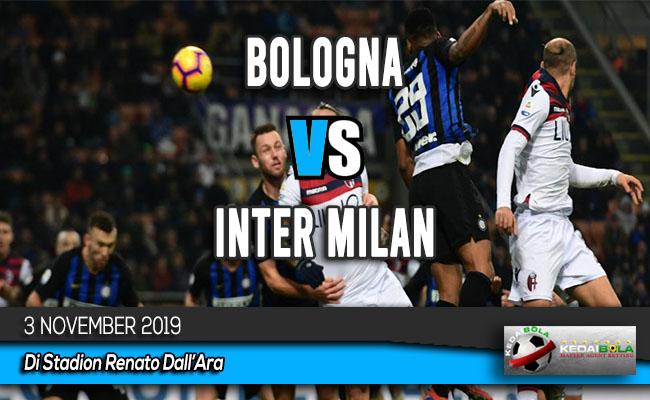 Prediksi Skor Bola Bologna vs Inter Milan 3 November 2019