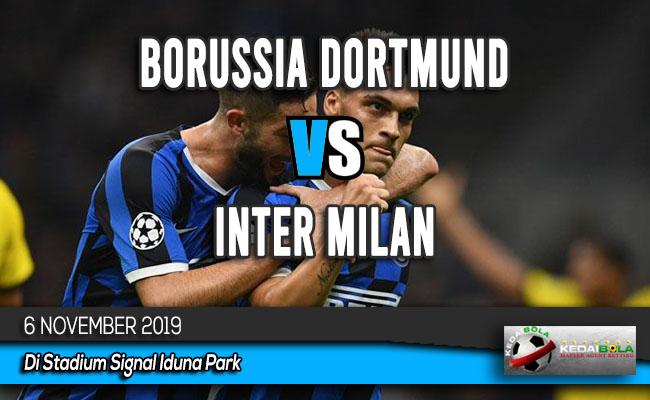Prediksi Skor Bola Borussia Dortmund vs Inter Milan 6 November 2019