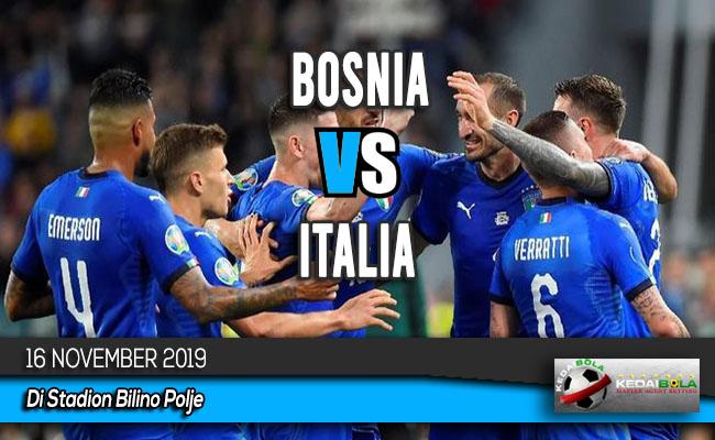 Prediksi Skor Bola Bosnia vs Italia 16 November 2019