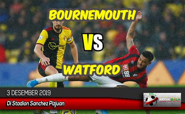Prediksi Skor Bola Bournemouth vs Watford 3 Desember 2019