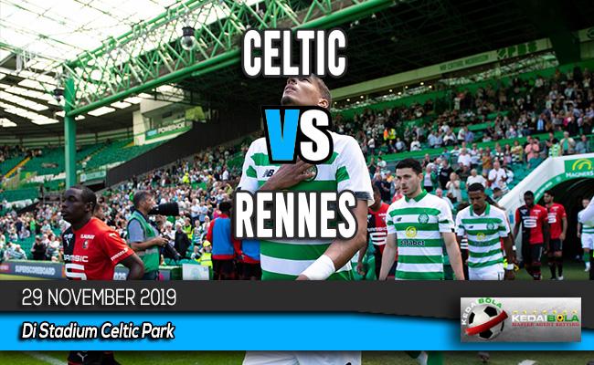 Prediksi Skor Bola Celtic vs Rennes 29 November 2019