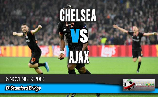 Prediksi Skor Bola Chelsea vs Ajax 6 November 2019
