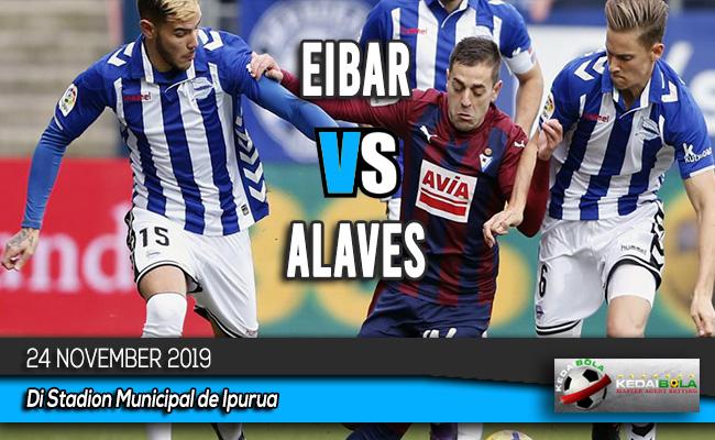 Prediksi Skor Bola Eibar vs Alaves 24 November 2019