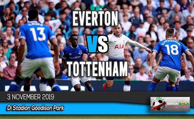 Prediksi Skor Bola Everton vs Tottenham 3 November 2019
