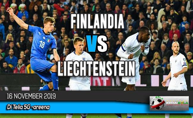 Prediksi Skor Bola Finlandia vs Liechtenstein 16 November 2019