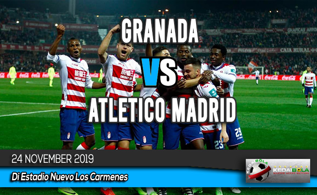 Prediksi Skor Bola Granada vs Atletico Madrid 24 November 2019