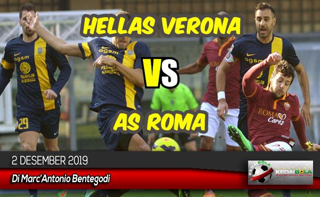 Prediksi Skor Bola Hellas Verona vs AS Roma 2 Desember 2019