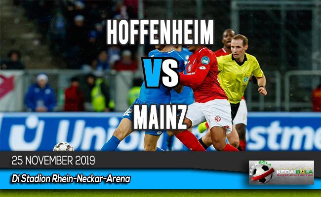 Prediksi Skor Bola Hoffenheim vs Mainz 25 November 2019