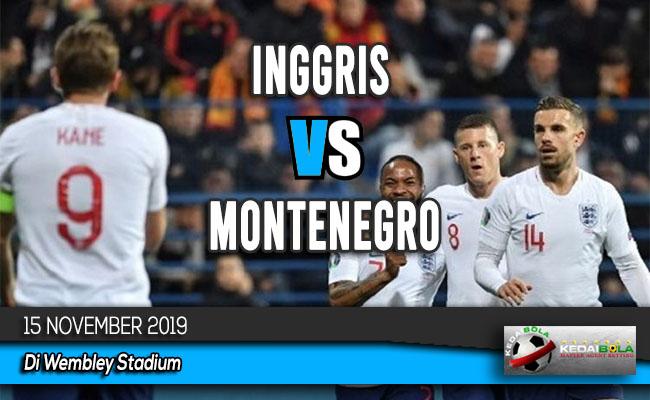Prediksi Skor Bola Inggris vs Montenegro 15 November 2019