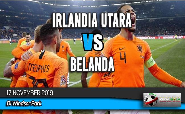 Prediksi Skor Bola Irlandia Utara vs Belanda 17 November 2019