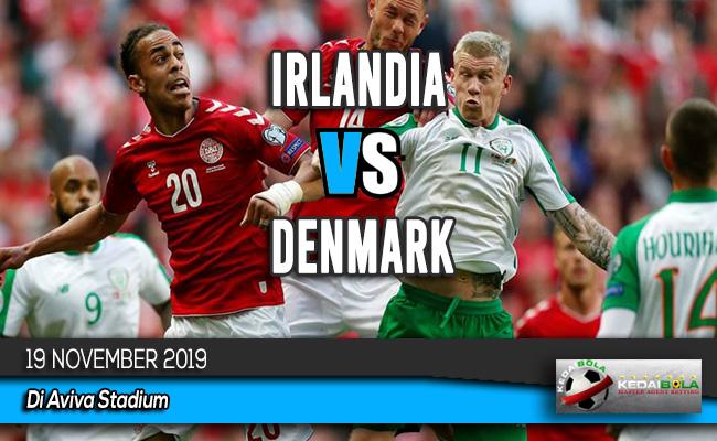 Prediksi Skor Bola Irlandia vs Denmark 19 November 2019