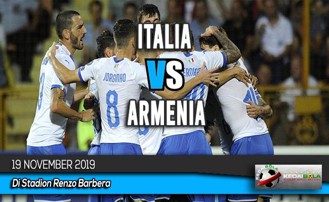 Prediksi Skor Bola Italia vs Armenia 19 November 2019