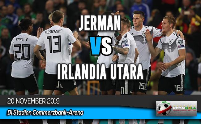 Prediksi Skor Bola Jerman vs Irlandia Utara 20 November 2019