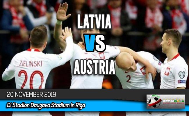 Prediksi Skor Bola Latvia vs Austria 20 November 2019