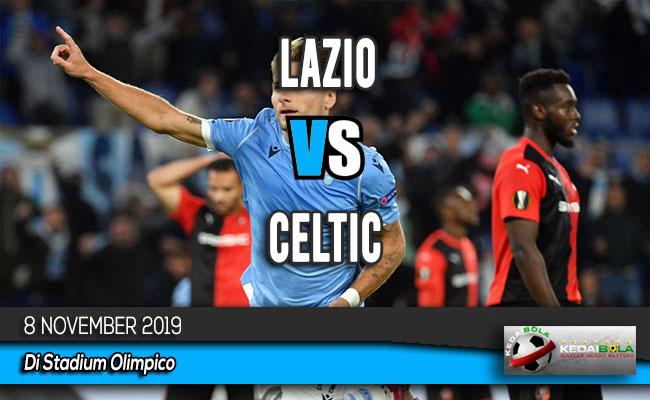 Prediksi Skor Bola Lazio vs Celtic 8 November 2019