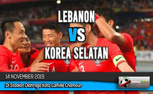 Prediksi Skor Bola Lebanon vs Korea Selatan 14 November 2019