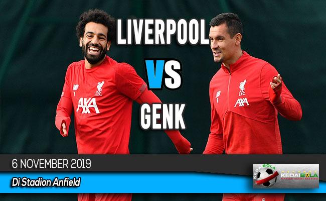 Prediksi Skor Bola Liverpool vs Genk 6 November 2019