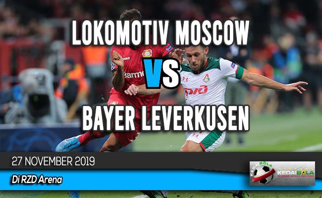 Prediksi Skor Bola Lokomotiv Moscow vs Bayer Leverkusen 27 November 2019