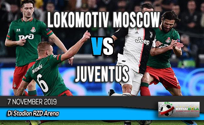 Prediksi Skor Bola Lokomotiv Moscow vs Juventus 7 November 2019