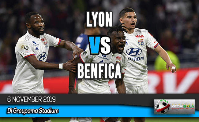Prediksi Skor Bola Lyon vs Benfica 6 November 2019