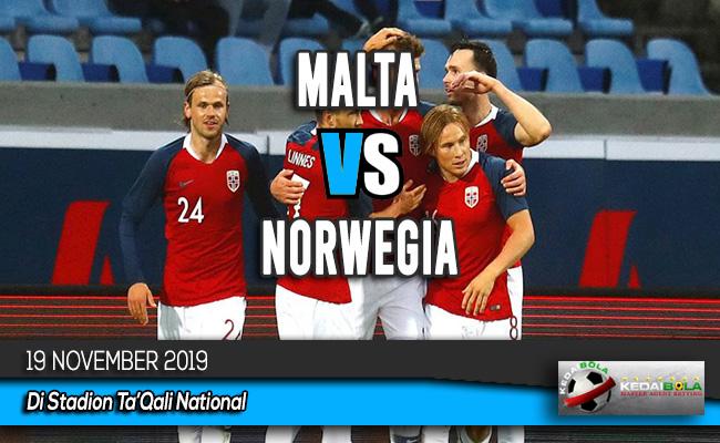 Prediksi Skor Bola Malta Vs Norwegia 19 November 2019