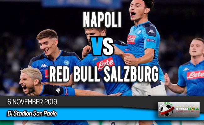Prediksi Skor Bola Napoli vs Red Bull Salzburg 6 November 2019