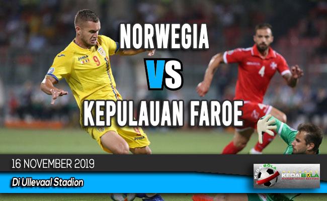 Prediksi Skor Bola Norwegia vs Kepulauan Faroe 16 November 2019